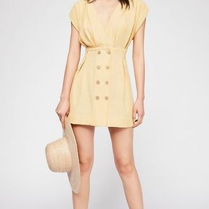 NWT Free People Into Town Mini Dress